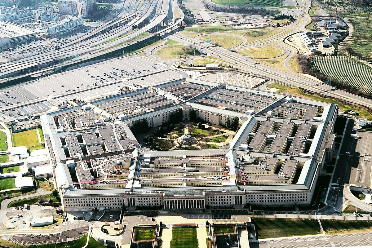 美國國防部辦公地——五角大樓 (STAFF / AFP)