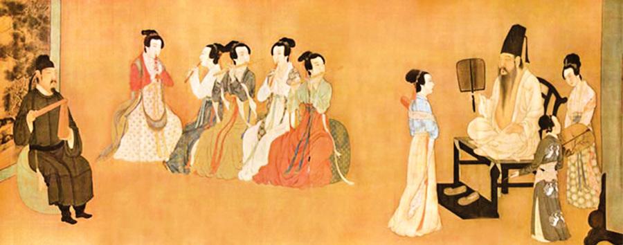 華夏漢服飾演繹 隋唐五代至宋