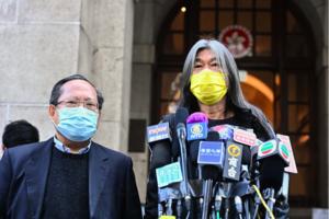香港終審法院裁定 民主派司法覆核禁蒙面法敗訴