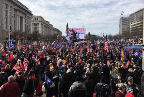 一月六日華府舉行盛大抗議活動 特朗普籲支持者到場參與