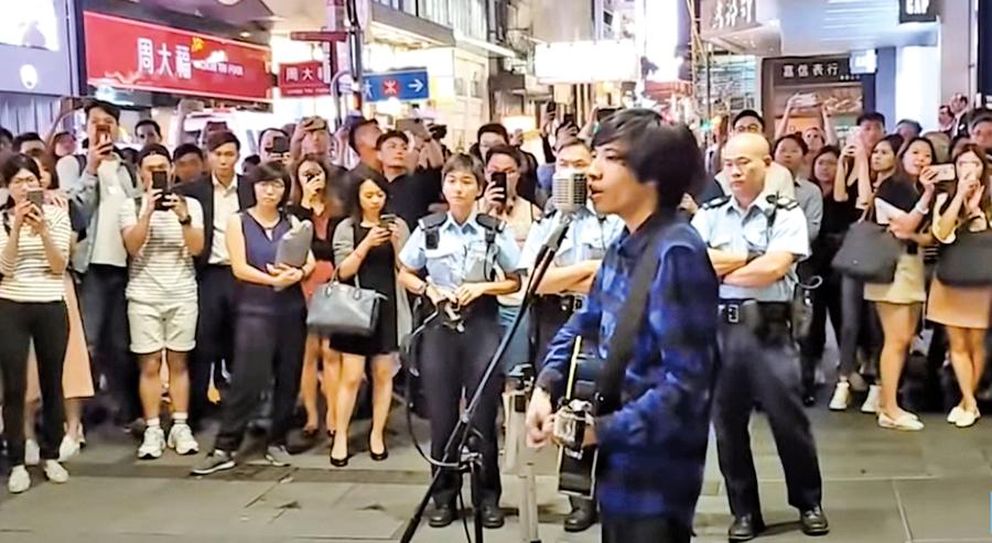 香港一名街頭歌手的故事——醜惡奈何不了善良