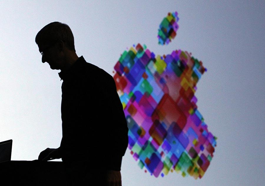 蘋果的iOS14系統升級,將要求apps問准用戶是否願意被追蹤「網絡行蹤」。(Getty Images)