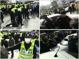 【一線採訪】上海昌碩千人討薪 十多人被抓
