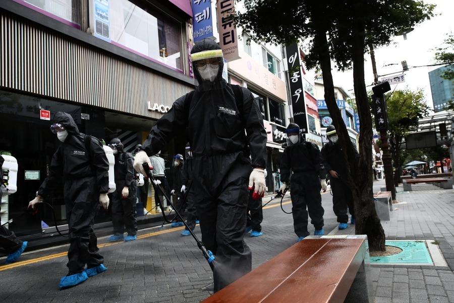 南韓中小企被中共病毒拖垮 重災區塊營收倒退76%