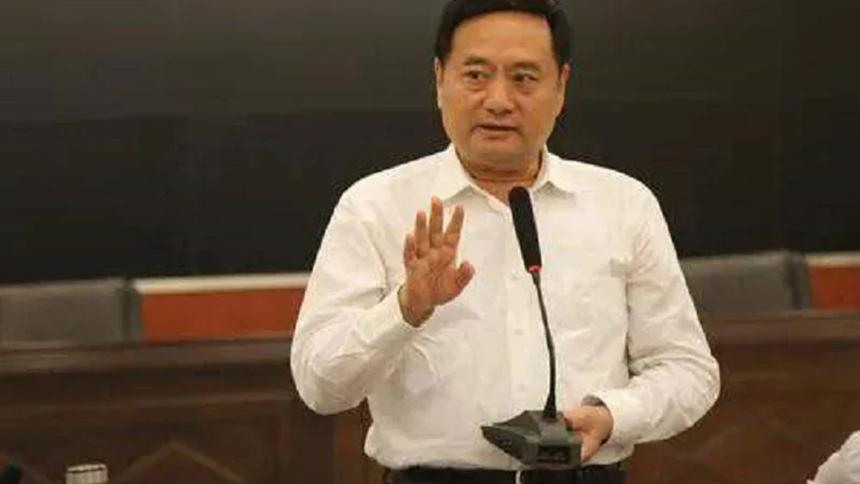 中共石家莊市市長鄧沛然。(網絡圖片)