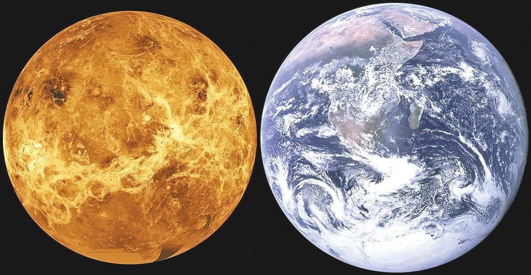 古代金星或有海水氣溫涼爽宜居