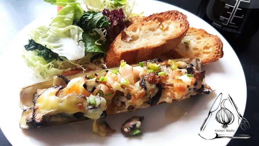 【美食「達」人】  貝殼類海鮮煮出新意思