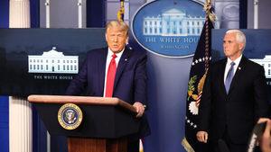 特朗普再發「制止竊選」講話 彭斯呼籲戰鬥下去
