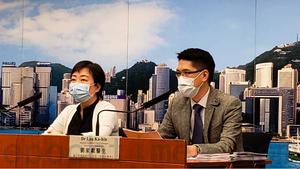 港增57宗確診 到港檢疫延至21天 觀塘玉蓮臺強檢