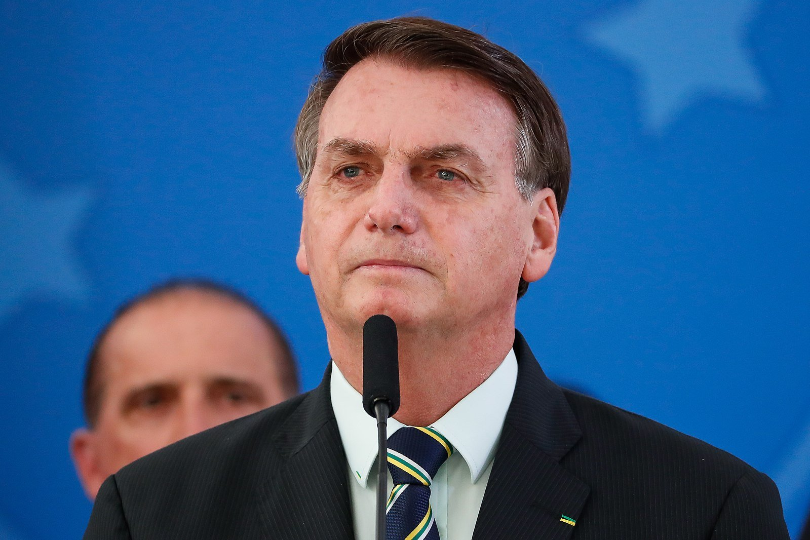 圖為巴西總統波索納羅(Jaif Bolsonaro)。(Palácio do Planalto,Wikipedia Commons)