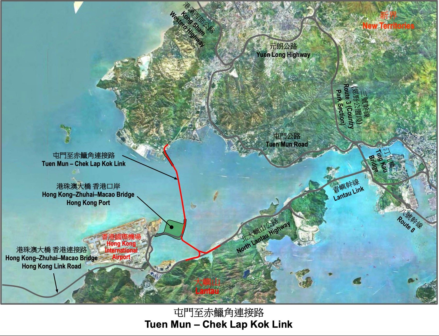 屯門至赤鱲角連接路(https://www.hyd.gov.hk)