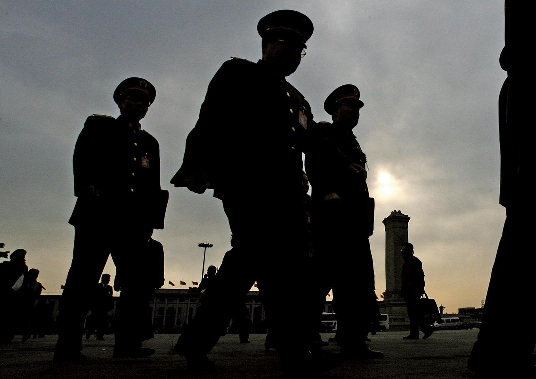 被調查的中共雲南省政府原黨組成員、省長助理李磊,被指是前中共軍委委員、總政治部主任李繼耐上將之子。(Getty Images)