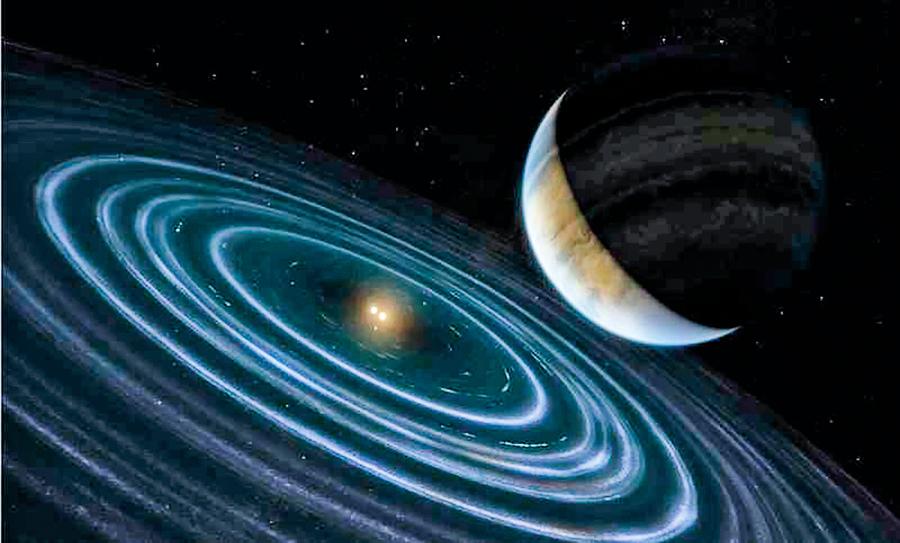太陽系外發現奇特星球 或成第九行星線索