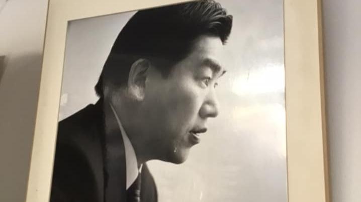 12月27日,日本前國土交通大臣羽田雄一郎,染中共病毒去世。(圖片摘自facebook.com/yuchan.hata)
