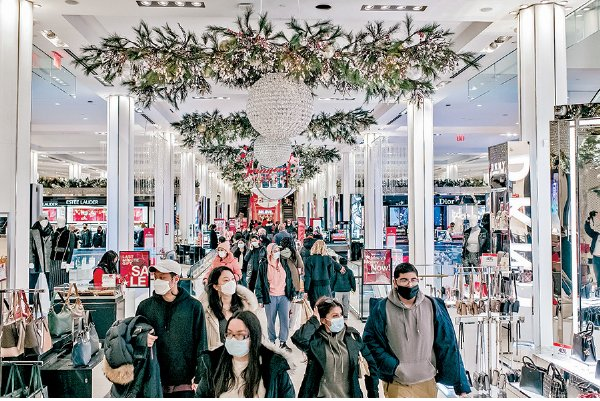 購物旺季美零售銷售增3% 優於市場預期 顯消費韌性