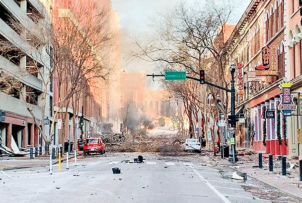 田納西州爆炸案 男嫌曾告訴鄰居:世界永遠不會忘了我