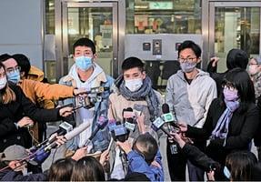 十二港人宣判最重監禁三年