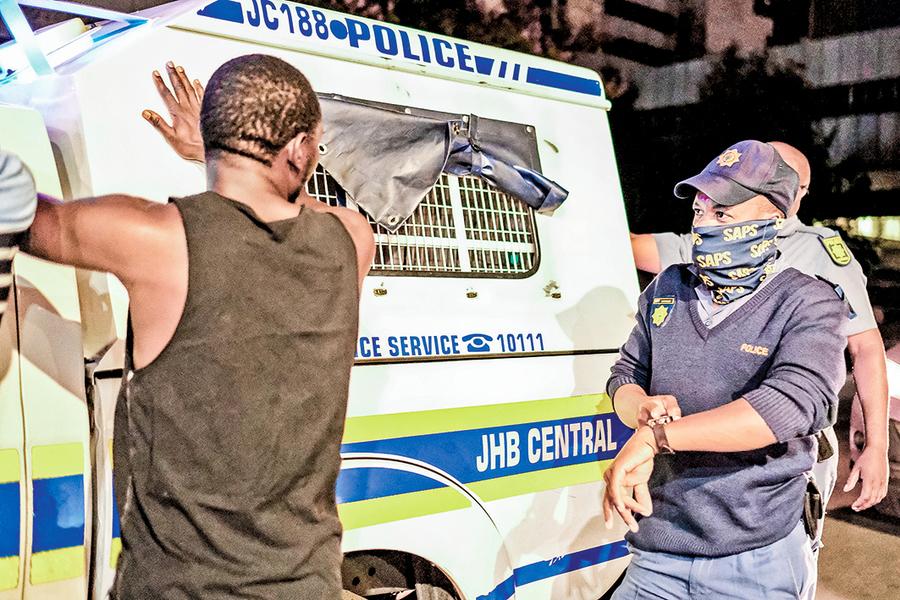 南非疫情告急 防疫禁令升級