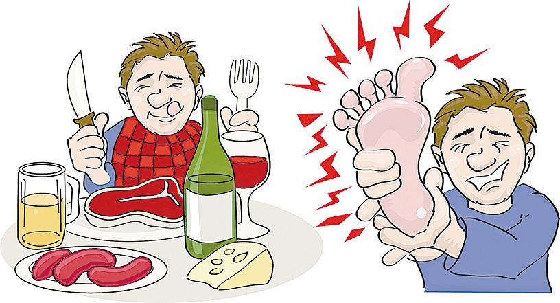 痛風是吃出來的!中醫三招止痛一味食療改善