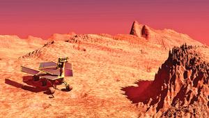 火星地殼如三層蛋糕結構