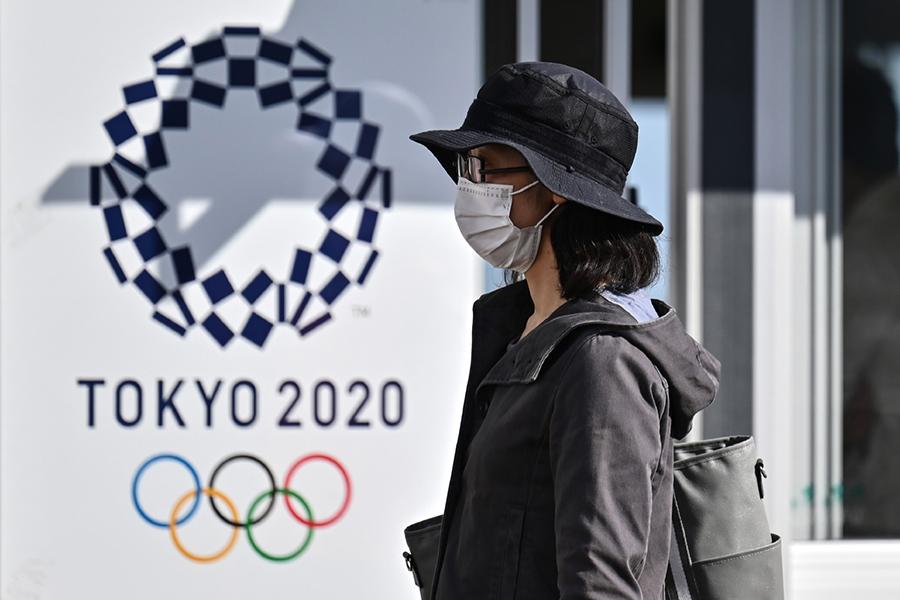 日本東京奧運因疫災被迫延期。(Getty Images)