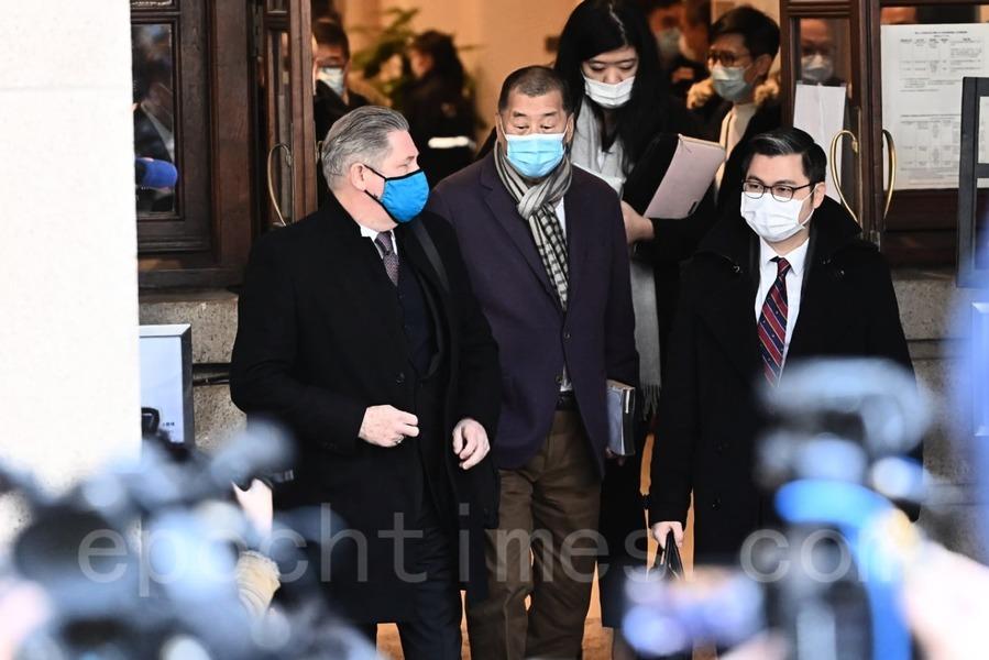 香港律政司就黎智英獲保釋上訴 終院下午四時宣判