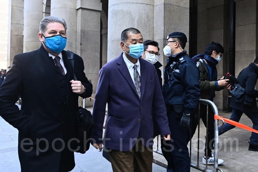 【組圖】港終審法院受理律政司上訴申請 黎智英須再度還押