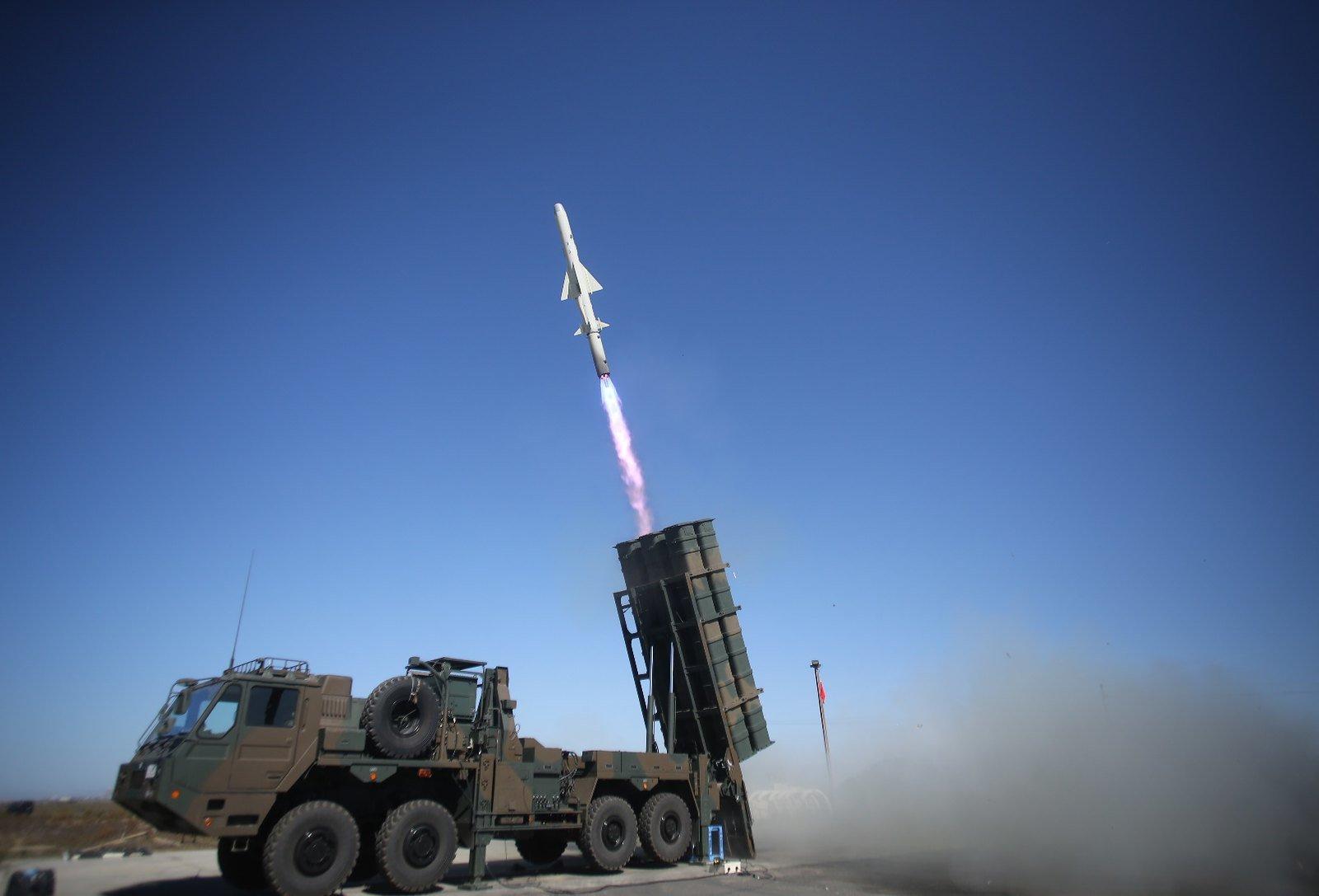 日本陸上自衛隊12式反艦導彈。(JGSDF)