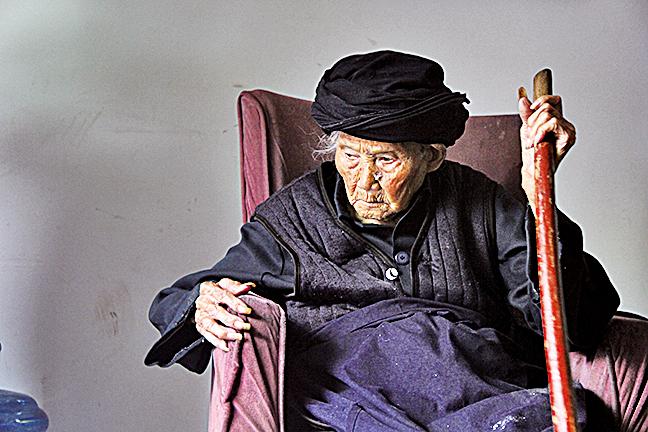 世界最高齡的女人瑞付素清8月21日過119歲生日。(大紀元資料室)