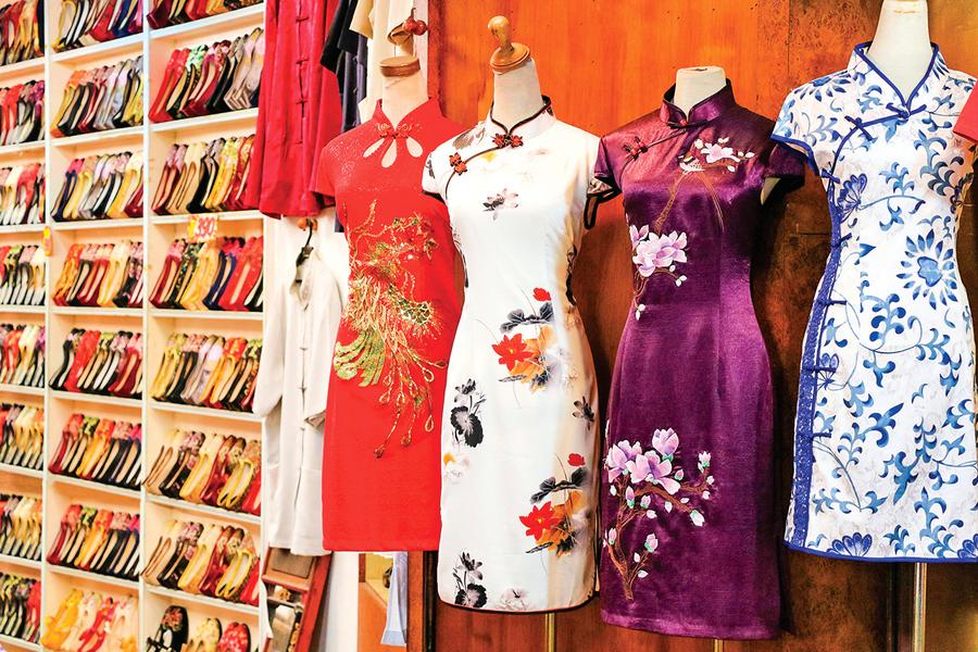 穿越百年的東方風韻 旗袍