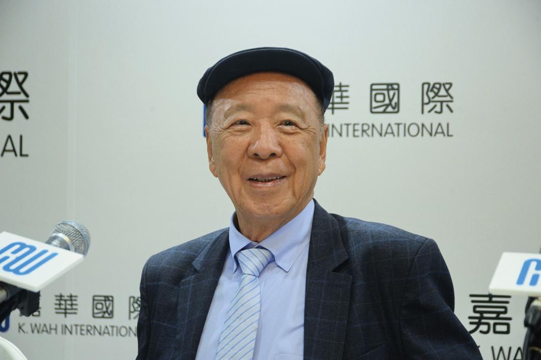 嘉華國際主席呂志和表示,集團對樓市審慎,對後市樂觀;並稱不鼓勵炒樓。(宋祥龍/大紀元)