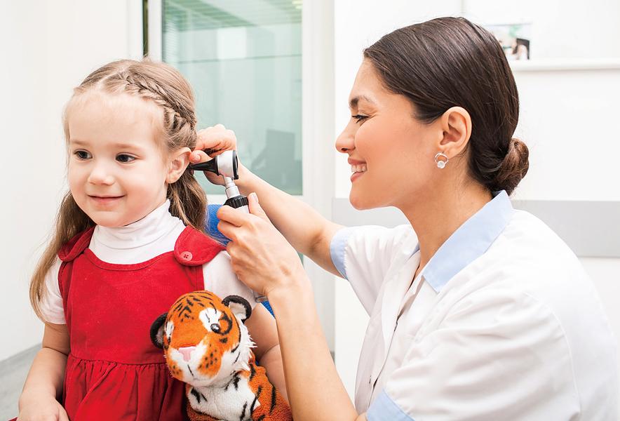 幼童秋冬易感冒 小心引發中耳炎