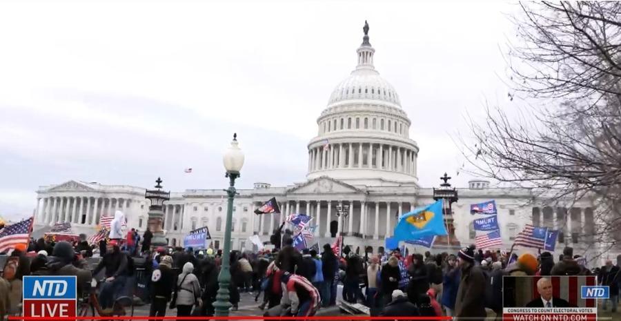 美國國會大廈疏散 2020選舉辯論暫停