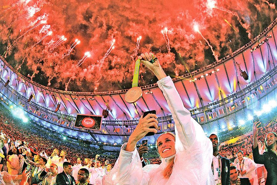 2016巴西里約奧運閉幕