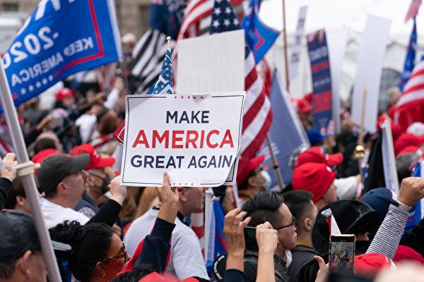 特朗普:會不惜代價戰鬥 將挑戰八州選舉結果