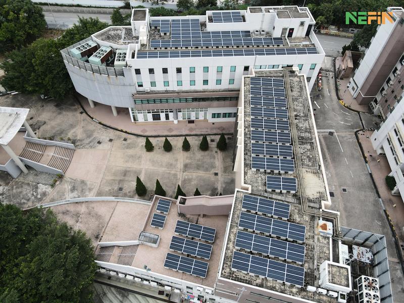 引入高效太陽能發電 浸會神學院實現綠色校園