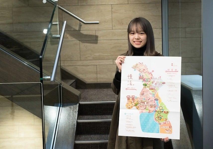 【活動速遞】知專生設計地圖展現將軍澳社區風貌