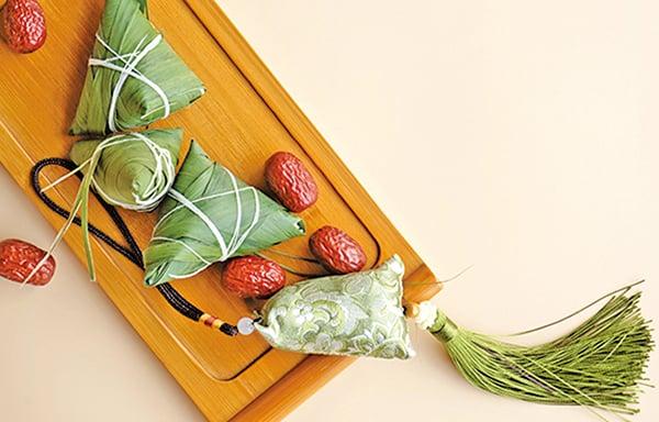 端午節佩戴香囊能起到辟疫驅蟲的效果。(Shutterstock)