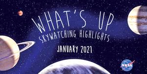 一月天文觀測有什麼期待看點?