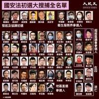 港53名被捕泛民陸續獲准保釋 黃之鋒獄中亦受查