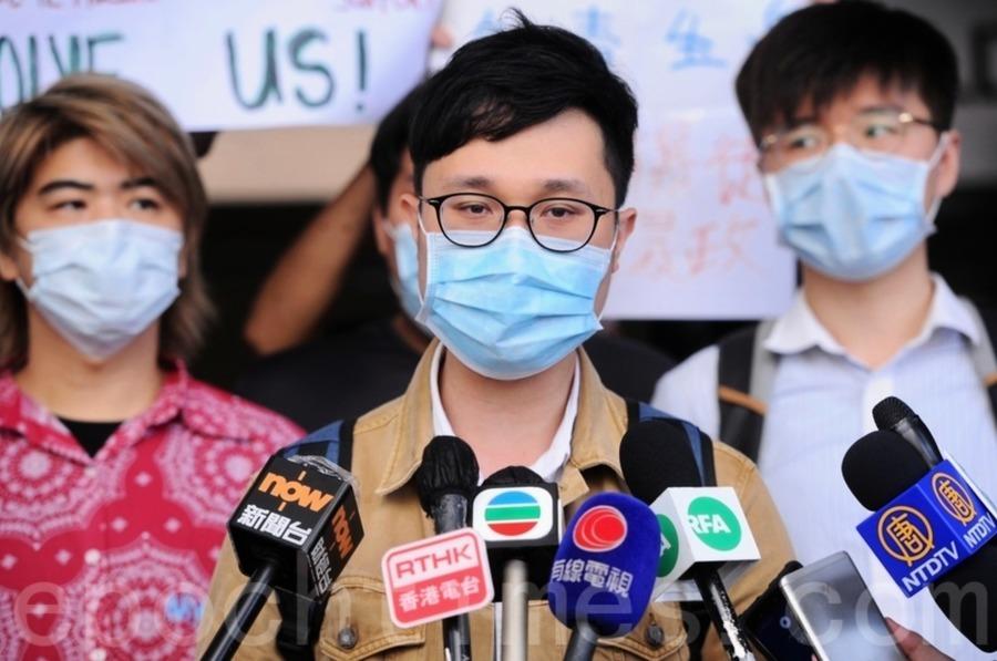 人民力量會議紀錄被搜走 劉頴匡疑事件非港警處理