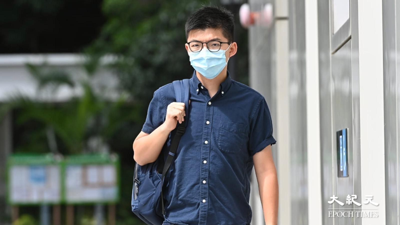 7日,香港國安處以違反「港版國安法」的罪名,拘捕正在石壁監獄服刑的前香港眾志秘書長黃之鋒。(大紀元資料圖片)