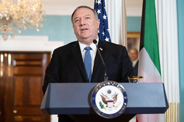 美國國務卿蓬佩奧。(SAUL LOEB/POOL/AFP via Getty Images)