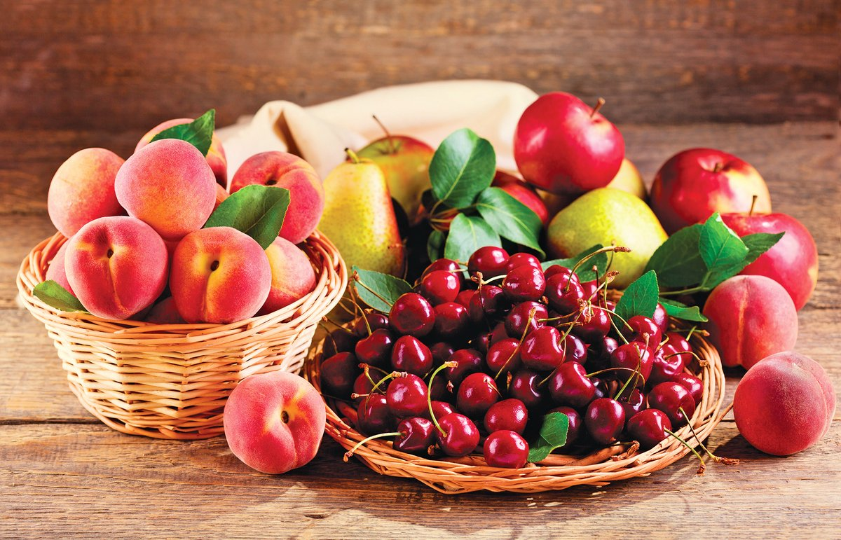 奧蘭治是著名的水果種植區,水果種類豐富。