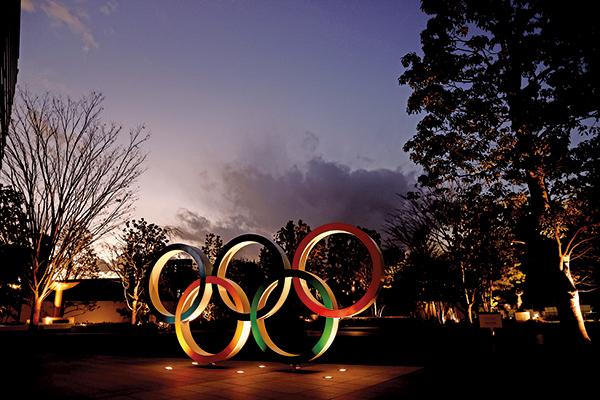 2021年1月8日,東京奧運會的主會場。 (BEHROUZ MEHRI/AFP via Getty Images)