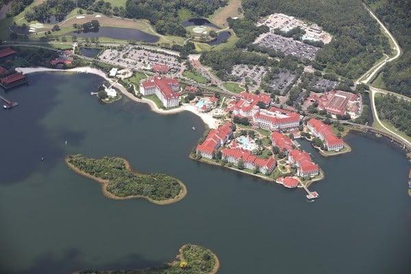 美國佛州奧蘭多迪士尼的大逸度假村(Grand Floridian Resort)。(Joe Raedle/Getty Images)