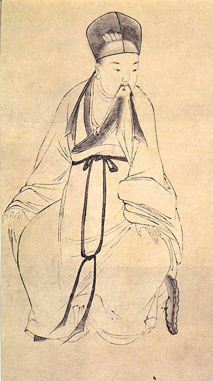 白居易畫像(公有領域)