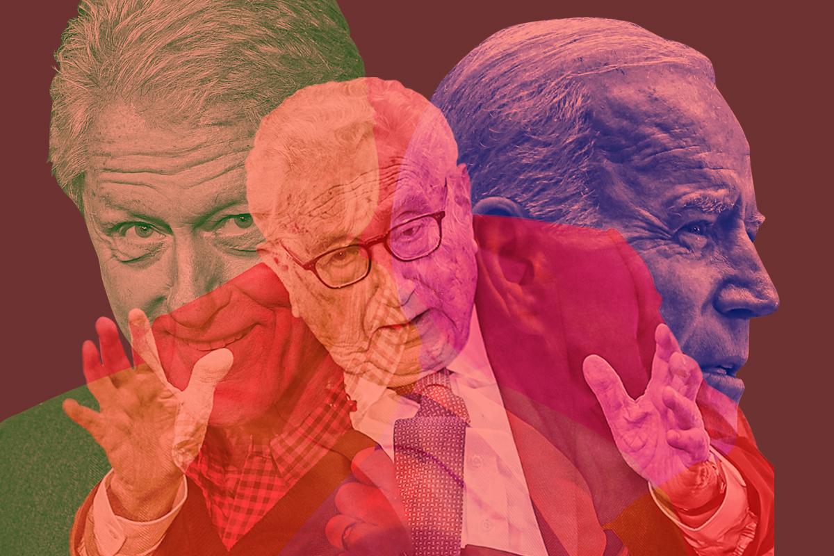 2012年,習近平訪美王立軍出逃,副總統拜登與習做交易;基辛格唯一一個被五代中共黨魁接見過,多個大事件中有身影;中共入世貿,克林頓發力是關鍵。(大紀元製圖)