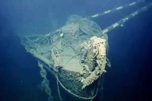 揭二戰核戰面紗 科學家探索海底航母殘骸