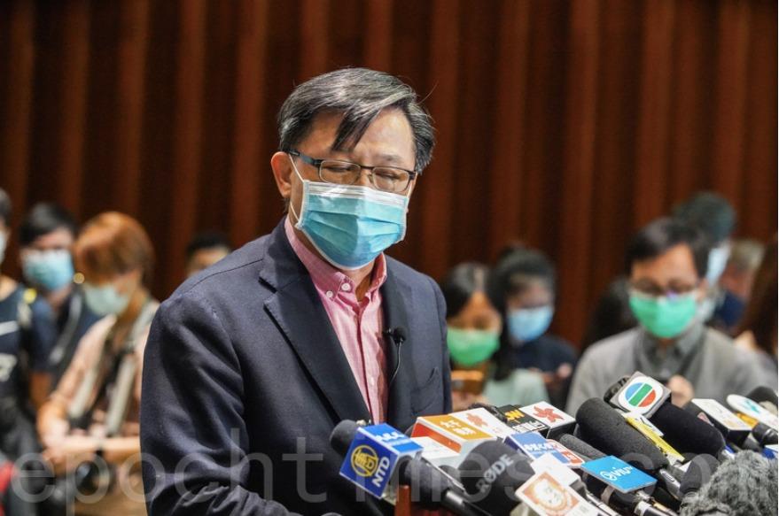 郭卓堅質疑港建制議員偽造學歷籲DQ 法院押後裁決